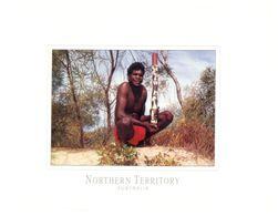 (A 16) Australia - Traditional Didgerido Hold By Men - Aborigenes