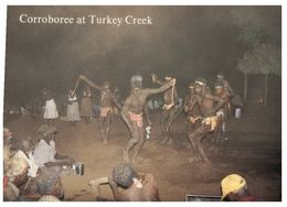 (A 16) Australia - Traditional Corroboree Dance - Aborigenes