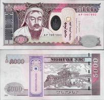 Mongolia 2013 - 5000 Tugrik - Pick 68 UNC - Mongolie