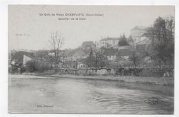 (RECTO / VERSO) VIEUX CHAMPLITTE EN 1932 - QUARTIER DE LA HAIE - CPA VOYAGEE - Altri Comuni
