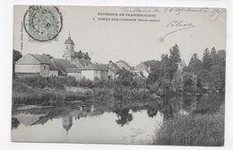 (RECTO / VERSO) VORAY SUR L' OIGNON EN 1905 - N° 1 - CPA VOYAGEE - Altri Comuni