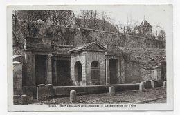 (RECTO / VERSO) MONTBOZON - N° 30316 - LA FONTAINE DE L' OIE - BEAU CACHET - CPA VOYAGEE - France