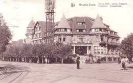 Belgique -  KNOCKE Le ZOUTE - KNOKKE -  - Tennis Hotel - Avenue Elisabeth - Tennishotel Elisabethlaan - Knokke