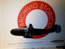 REGGIO EMILIA ARCHIVIO REGGIANE AEREO AVION IDROVOLANTE  PROGETTO  1944 N2017 HQ9668 - Reggio Nell'Emilia
