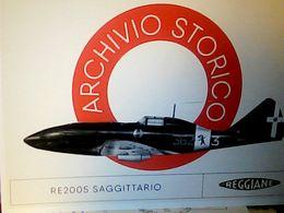 REGGIO EMILIA ARCHIVIO REGGIANE AVION RE 2005 Sagittario Aereo Caccia 1942 N2017 HQ9670 - Reggio Nell'Emilia
