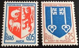 N° 1468  ET  1469   NEUF ** SANS  CHARNIÈRE ( LOT:1862 ) - 1941-66 Escudos Y Blasones