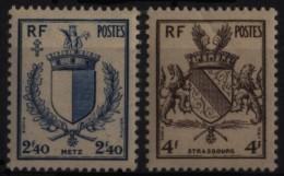 N° 734 Et N° 735 - X X - ( F 222 ) - - 1941-66 Escudos Y Blasones