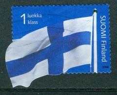 Bm Finland 2006 MiNr 1795 Used | 150th Anniv Of Finnish Stamps, National Flag - Finland
