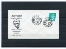 GRANDS NAVIGATEURS - JUAN MARTIN EXPEDITION MAGELLAN ELCANO SUR SOUVENIR ESPAGNE 1982 - Explorers