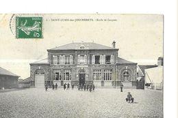 SAINT LUBIN DES JONCHERETS     ECOLE DE GARCONS    ELEVES        DEPT 28 - Frankrijk