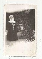 Photographie ,enfant ,fille ,religion , 110 X 70 Mm - Personnes Anonymes
