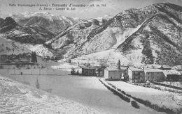 CPA - Italie - Cuneo - Vernante D'inverno - S.Rocco - Campo De Ski - Cuneo