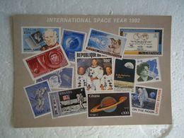 GREECE POSTCARDS  SPACE  INTERNASIONAL YEARS  1992 EXCHIBITION ILIOYPOLI - Astronomia