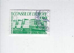 Conseil De L'Europe TS N° 93 Oblitéré Année 1986 - Afgestempeld