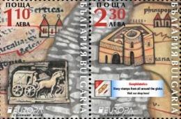 Europa CEPT 2020 BULGARIA Ancient Postal Routes (Pre Order!) - Fine Set MNH - Nuovi