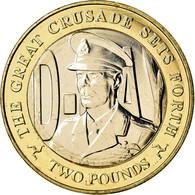 Monnaie, Isle Of Man, 2 Pounds, 2019, Pobjoy Mint, D-Day - George VI, SPL - Regionale Währungen