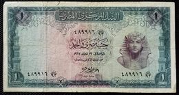 EGYPT - 1 POUND 1967-Sign. Ahmed Nazmi -  (Egitto) (Ägypten) (Egipto) (Egypten) Africa - Egypte