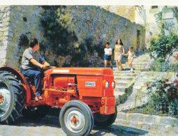 AGRICULTURE )) TRACTEUR / RENAULT MOTOCULTURE 2 / Publicité - Tractores