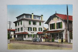 40 : Mimizan Plage  - Hôtel Bellevue  , Mme J. Labrouche ( Voiture 4cv ) - Mimizan Plage