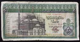 EGYPT - 20 POUNDS 1978-Sign. ZENDO -  (Egitto) (Ägypten) (Egipto) (Egypten) Africa - Aegypten