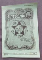 ESPERANTO - MAGAZINE PERIODICAL Year 1947. Ed. OSIJEK CROATIA - People