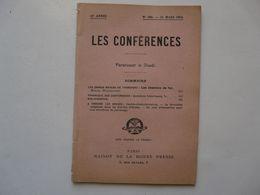 FASCICULE - LES CONFERENCES 1912 : Les Chemins De Fer - Railway & Tramway