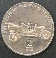 COREE DU NORD - NORTH KOREA - 2 CHON 2002 - Automobile - Voiture - KM 197 - XXI CENTURY FAO FOOD SECURITY - Corea Del Nord