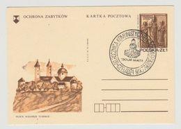 Briefkaart - Kartka Pocztowa Plock Wzgórze Tumskie 1977 - 1944-.... Republic