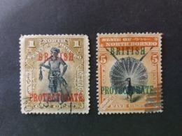 "BRITISH PROTECTORATE NORTH BORNEO 1901 -1902 Local Motifs - Inscription ""BRITISH PROTECTORATE"" - North Borneo (...-1963)"