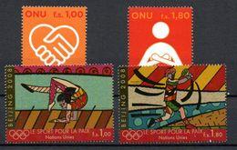 G39-18 Nations Unies N° 610 à 613 ** - Geneva - United Nations Office
