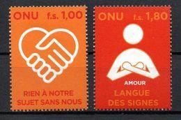 G39-18 Nations Unies N° 610 à 611 ** - Geneva - United Nations Office