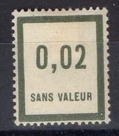 FRANCE ( FICTIF ) : Y&T  N°  F24  TIMBRE  NEUF  AVEC  TRACE  DE  CHARNIERE , A  VOIR . B 20 - Phantom