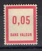 FRANCE ( FICTIF ) : Y&T  N°  F26  TIMBRE  NEUF  SANS  TRACE  DE  CHARNIERE , A  VOIR . B 20 - Phantom