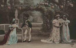 Napoléon à La Malmaison - Série De 5 Cartes - Groupes D'enfants & Familles