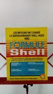 Publicité De Presse De 1986 Supercarburant Formule Shell - Transporto