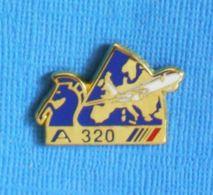 1 PIN'S //  ** AVION AIRBUS A320 AIR FRANCE ** . (MARCALIN) - Avions