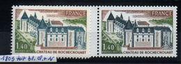 YT N° 1809 - Toit  Et Tour Bleu + Normal - Neufs ** - Variedades Y Curiosidades