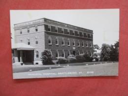 Memorial Hospital   Brattleboro - Vermont >> Ref 4183 - Etats-Unis