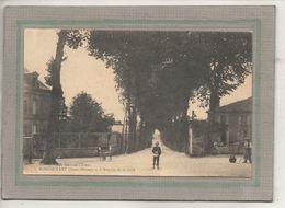 CPA - (79) MONCOUTANT - Aspect Du Carrefour De L'avenue De La Gare En 1924 - Moncoutant