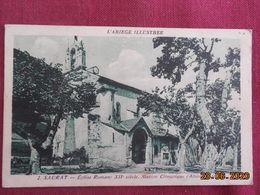 CPSM - Saurat - Eglise Romane XIIe Siècle - France