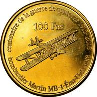 Monnaie, France, 100 Francs, 2015, Paris, Ile Europa, SPL, Bronze-Aluminium - Colonies