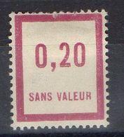 FRANCE ( FICTIF ) : Y&T  N°  F29  TIMBRE  NEUF  AVEC  TRACE  DE  CHARNIERE , A  VOIR . B 20 - Phantom