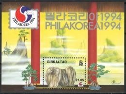 Gibraltar 1994. Mi Block 20, Postfrisch **, MNH - Gibraltar