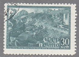 RUSSIA    SCOTT NO 869   USED    YEAR  1942 - Usados