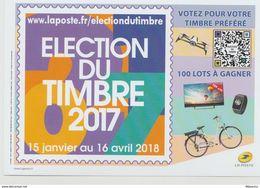 France : Election Du Timbre 2017. - France