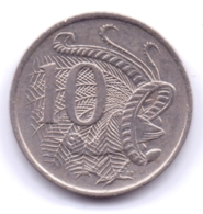 AUSTRALIA 1977: 10 Cents, KM 65 - Decimal Coinage (1966-...)