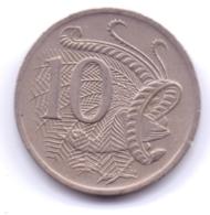 AUSTRALIA 1976: 10 Cents, KM 65 - Decimal Coinage (1966-...)