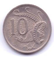 AUSTRALIA 1973: 10 Cents, KM 65 - Decimal Coinage (1966-...)