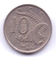 AUSTRALIA 1972: 10 Cents, KM 65 - Decimal Coinage (1966-...)