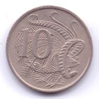 AUSTRALIA 1968: 10 Cents, KM 65 - Decimal Coinage (1966-...)